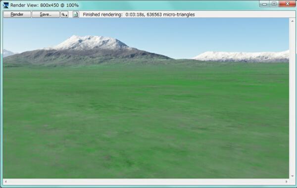 Terragen 3 基本操作: Terragen...